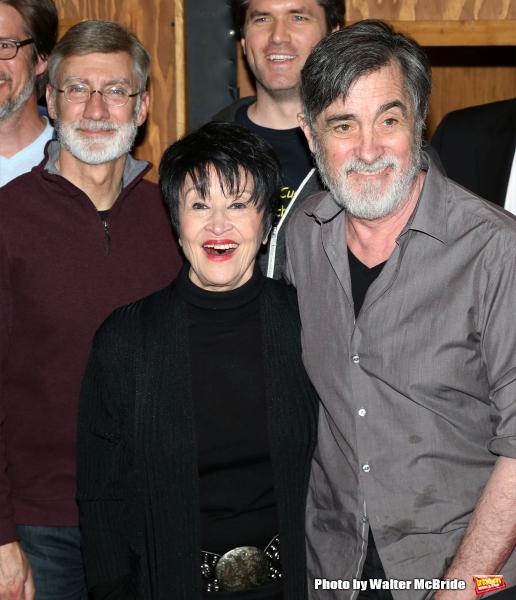 David Garrison, Chita Rivera and Roger Rees