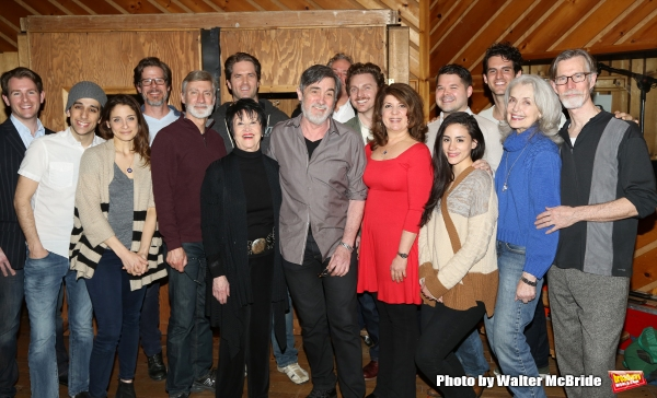 David Garrison, Chita Rivera, Roger Rees, Jason Danieley, Mary Beth Peil and the ensemble cast