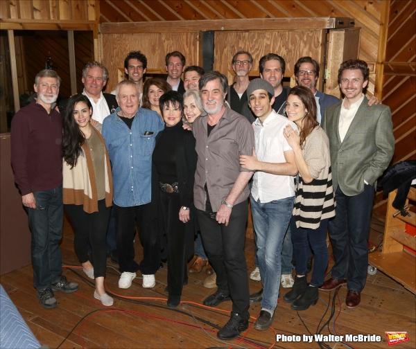 David Garrison, John Kander, Chita Rivera, Mary Beth Peil, Roger Rees, George Abud, Jason Danieley and the ensemble cast