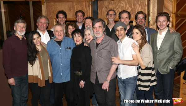 David Garrison, John Kander, Chita Rivera, Mary Beth Peil, Roger Rees, George Abud, Jason Danieley and the ensemble cast