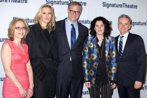 Erika Mallin, Amy Griffin, John Griffin, Tina Landau, James Houghton Photo