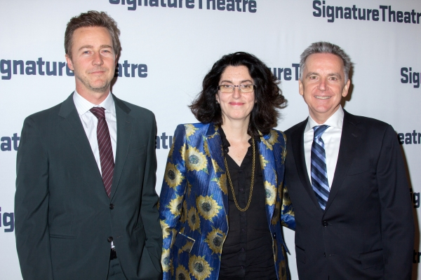 Edward Norton, Tina Landau, James Houghton