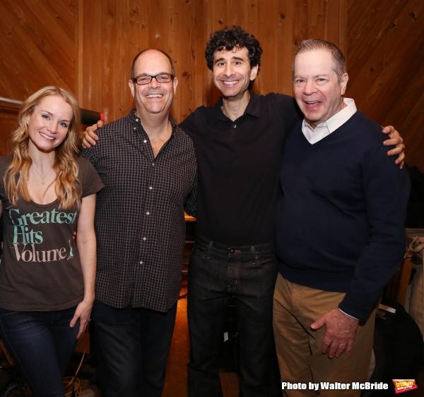 Kate Reinders, Brad Oscar, John Cariani and Peter Bartlett