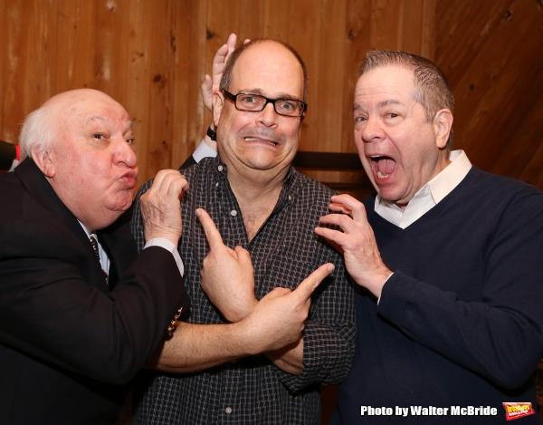 Gerry Vichi, Brad Oscar and Peter Bartlett