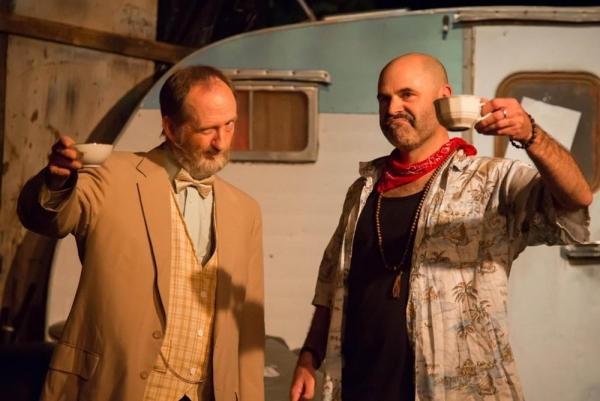 Rick Williams (Professor) and Augustus Truhn (Johnny)