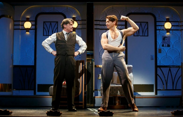 Peter Gallagher, Andy Karl