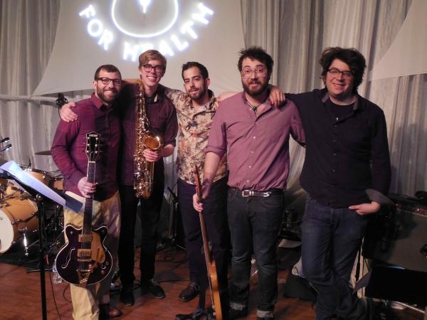 Amos Rose, David Engelhard, Bennett Eiferman, Zac Greenberg and Kevin Wunderlich Photo