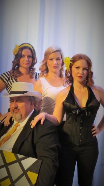 Photo Flash: First Look at Dark Psychic Productions' 'The Temperamental Artist'