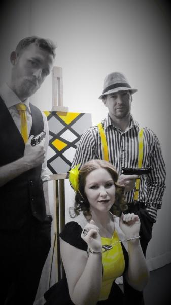 Katrina Murphy, John Gray and Adrian Archer Photo