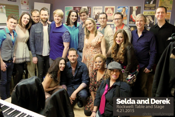 L to R: Blake McIver, Emily Schultheis, Joshua Mark Samuels, Mark Byers, Eric Michael Krop, Devyn Rush, Derek Gregor, Natalie Weiss, Colton James, Selda Sahin, Kyra Selman, Steven Tylor O'Connor, Zachary Lee-Halley, Gabrielle Taryn, amy francis schott,