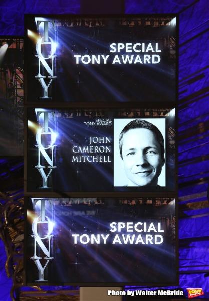 Special Tony Award: John Cameron Mitchell