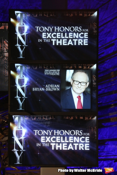 Tony Honors for Excellence in the Theatre: Adrian Bryan-Brown