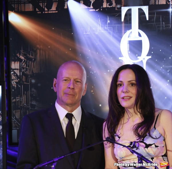 Bruce Willis and Mary-Louise Parker