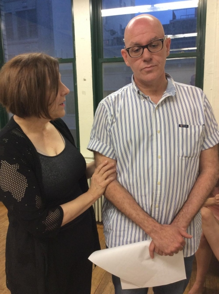 Dorothy Weems and Orlando Iriarte as Rose and Joseph Kennedy Photo
