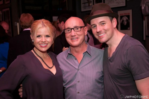 Megan Hilty, Gianni Valenti and Brian Gallagher