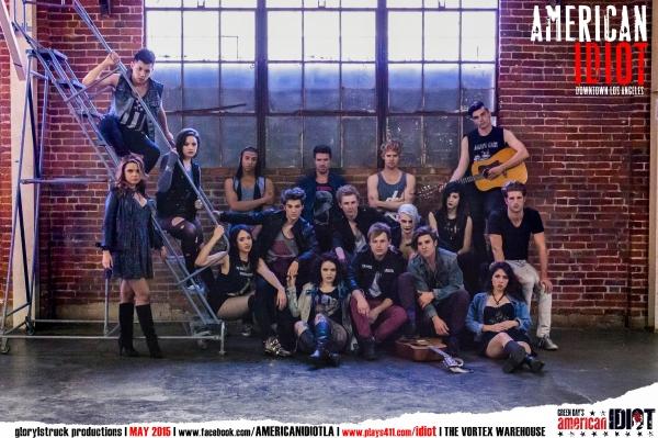 Photo Flash: Meet the Cast of glory|struck's Immersive AMERICAN IDIOT in LA