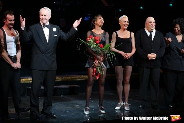R. Rowe, John Dossett, Amra-Faye Wright, Raymond Bokhour and NaTasha Yvette Williams with Brandy Norwood