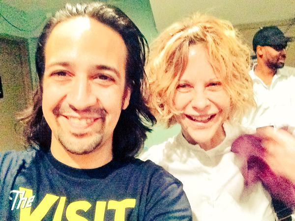 Lin-Manuel Miranda, Meg Ryan Photo