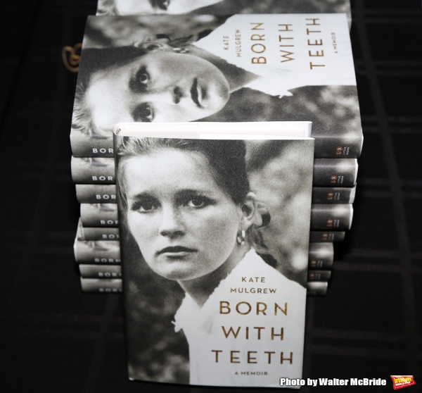 ''An Evening with Kate Mulgrew'', a reading and Q & A about her memoir ''Born with Teeth'' at the Vineyard Theatre on May 3, 2015 in New York City.