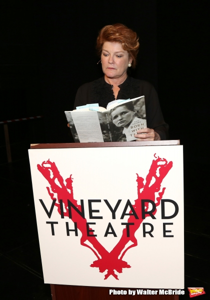 Photo Coverage: Kate Mulgrew Reads from BORN WITH TEETH for Vineyard Theatre Benefit