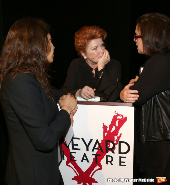 Sarah Stern, Kate Mulgrew and Rosie O''Donnell