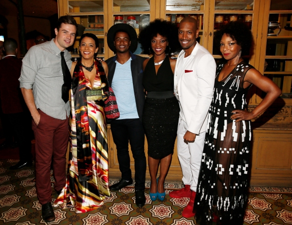 Cast members Mark Jude Sullivan, Cynda Williams, Kamal Angelo Bolden, Shanesia Davis, Bryan Terrell Clark and J. Nicole Brooks
