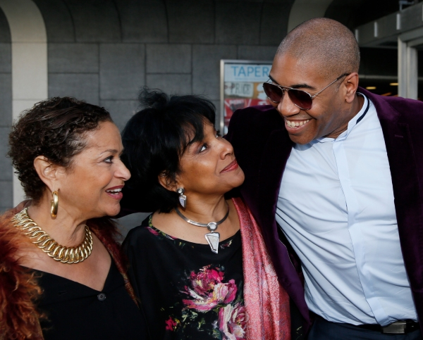 Actress/director Debbie Allen, Director Phylicia Rashad and Playwright Paul Oakley St Photo