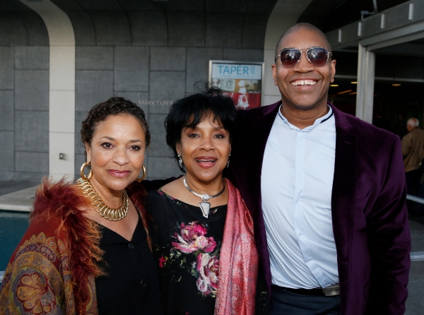 Actress/director Debbie Allen, Director Phylicia Rashad and Playwright Paul Oakley Stovall