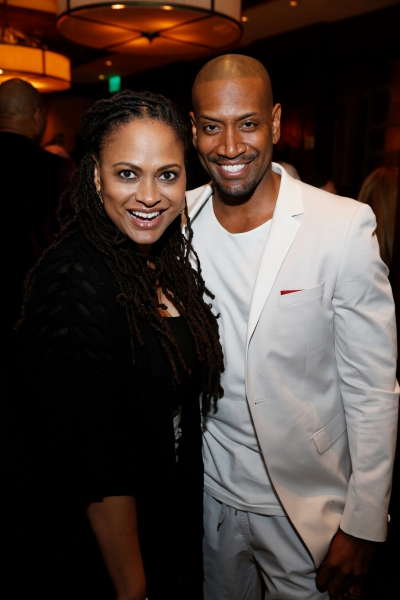 Film director Ava DuVernay and cast member Bryan Terrell Clark