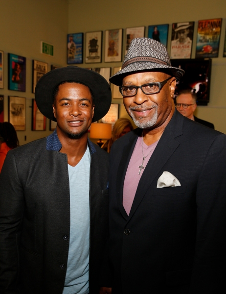 Cast member Kamal Angelo Bolden and actor James Pickens Jr.