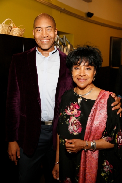 Playwright Paul Oakley Stovall and Director Phylicia Rashad