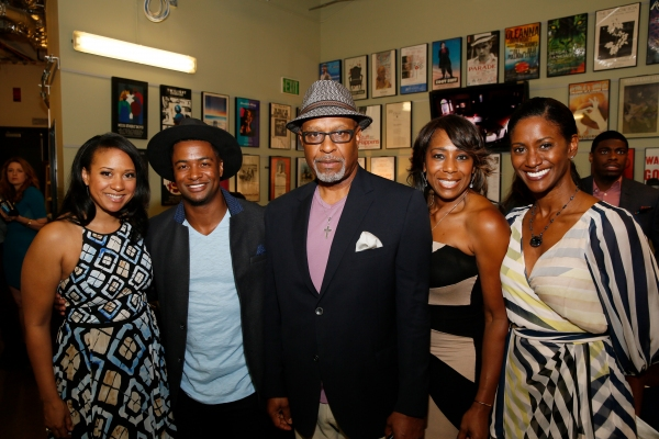 Actress Tracie Thoms, cast member Kamal Angelo Bolden and actors James Pickens Jr., Dawnn Lewis and JoNell Kennedy