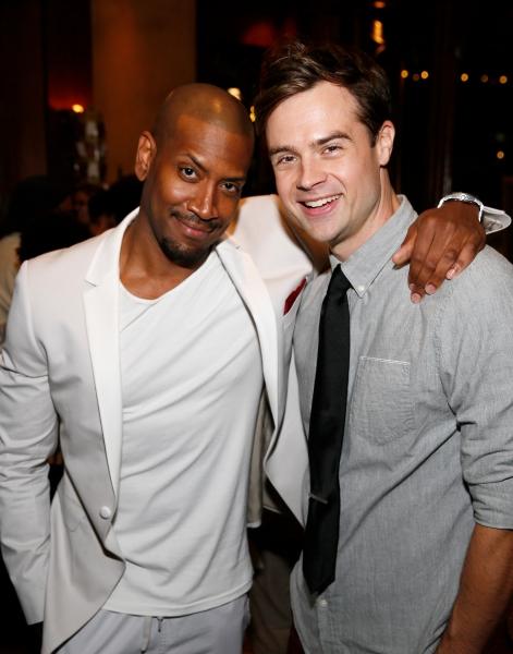 Cast members Bryan Terrell Clark and Mark Jude Sullivan