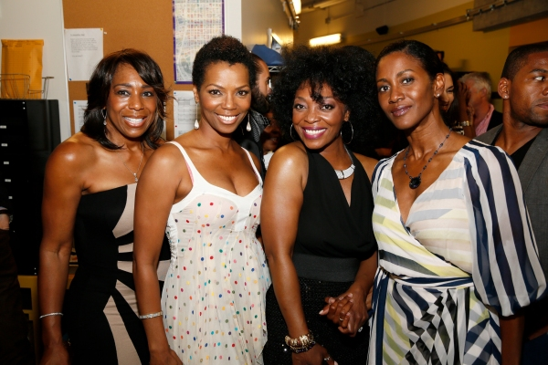 Actresses Dawnn Lewis, Vanessa Williams, cast member Shanesia Davis and actress JoNell Kennedy