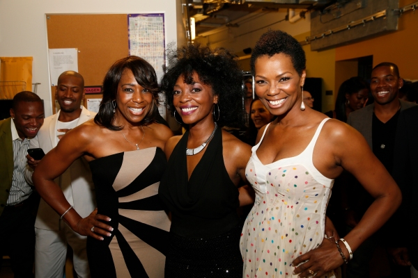 Actresses Dawnn Lewis, cast member Shanesia Davis and actress Vanessa Williams