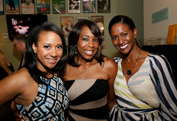 Actresses Tracie Thoms, Dawnn Lewis and JoNell Kennedy