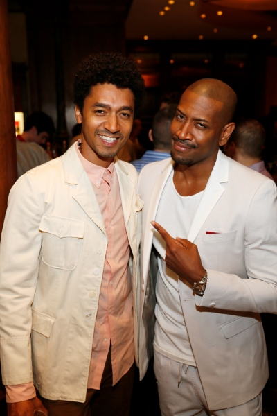 Actor Shawn Carter Peterson and cast member Bryan Terrell Clark Photo
