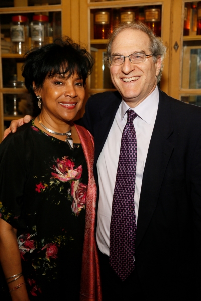 Director Phylicia Rashad and Theatre Producer Stephen Hendel