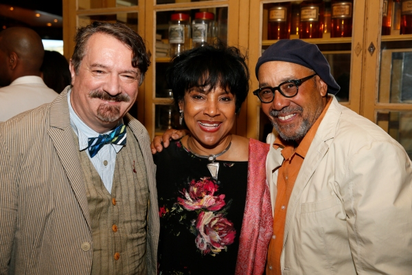 Scenic Designer John Iacovelli, Director Phylicia Rashad and Film Director John Simmons
