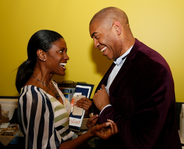 Actress JoNell Kennedy and Playwright Paul Oakley Stovall