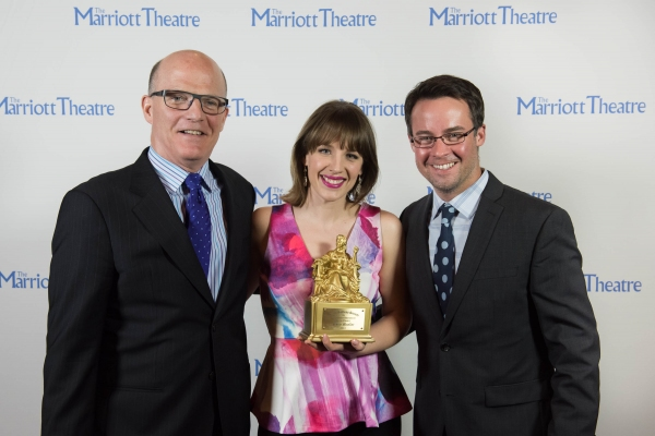 Charles Newell, Jessie Mueller and Matt Raftery Photo