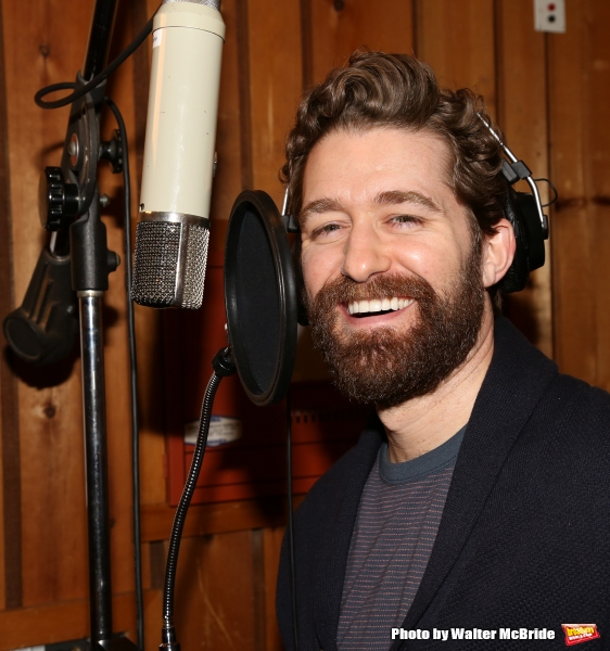 FREEZE FRAME: In the Recording Studio with the Cast of FINDING NEVERLAND!