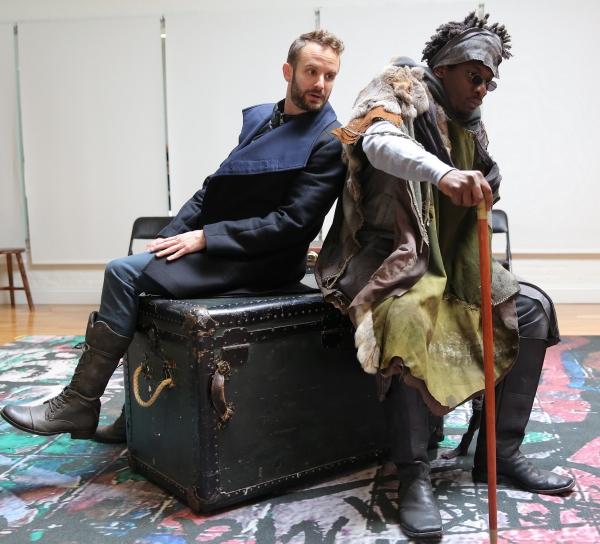Nick Mills and James Udom