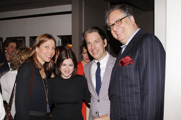 Nina Hellman, Marlo Hunter, Luis Flimm and Douglas Carter Beane