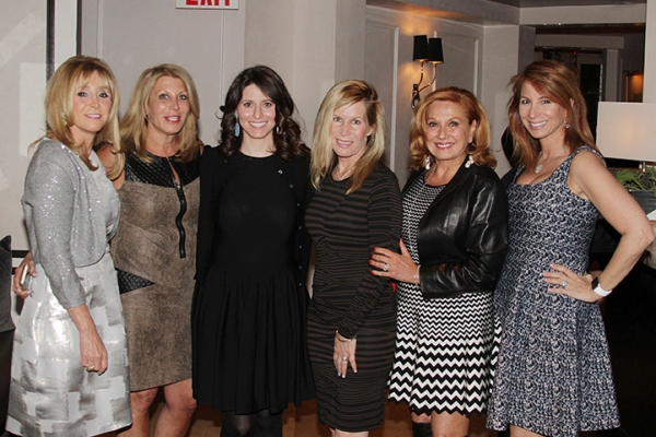 Iris Smith, Dottie Herman, Tara Swibel, Linda Rice, MIchele Rela and Jill Zarin