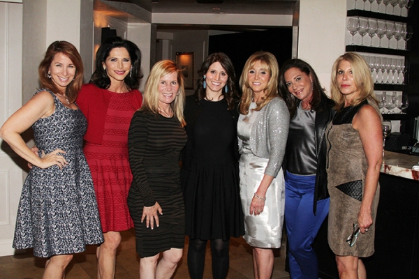 Jill Zarin, Shelia Rosenblum, Linda Rice, Tara Swibel, Iris Smith, Diane Davis and Dottie Herman