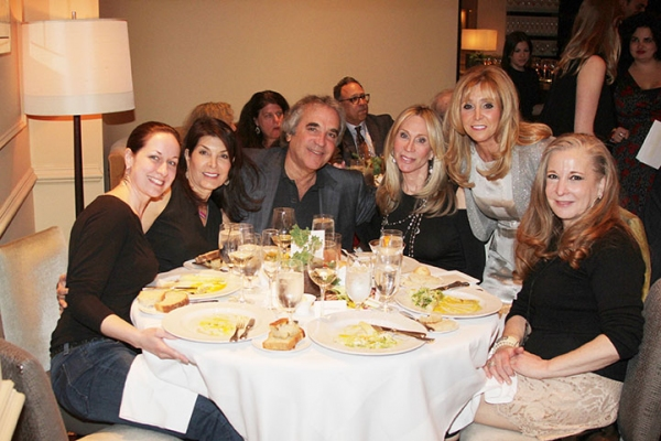 Jean Marie Kevins, Randi Rahm, Steven Stark, Candice Stark, Iris Smith and Isabel Keating
