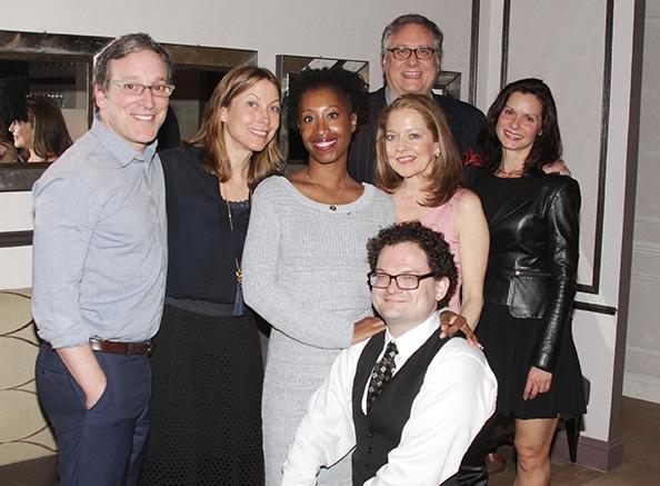 Jeremy Shamos, Nina Hellman, Zakiyaah Alexander, Douglas Carter Beane, Isabel Keating Photo