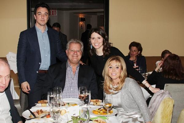 Brian Swibel, Michael Smith, Tara Swibel and Iris Smith Photo