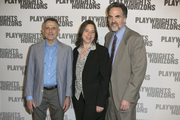 David Greenspan, Sarah Schulman and Tim Sanford